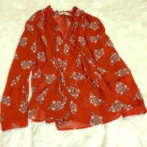 Sheer Loft blouse